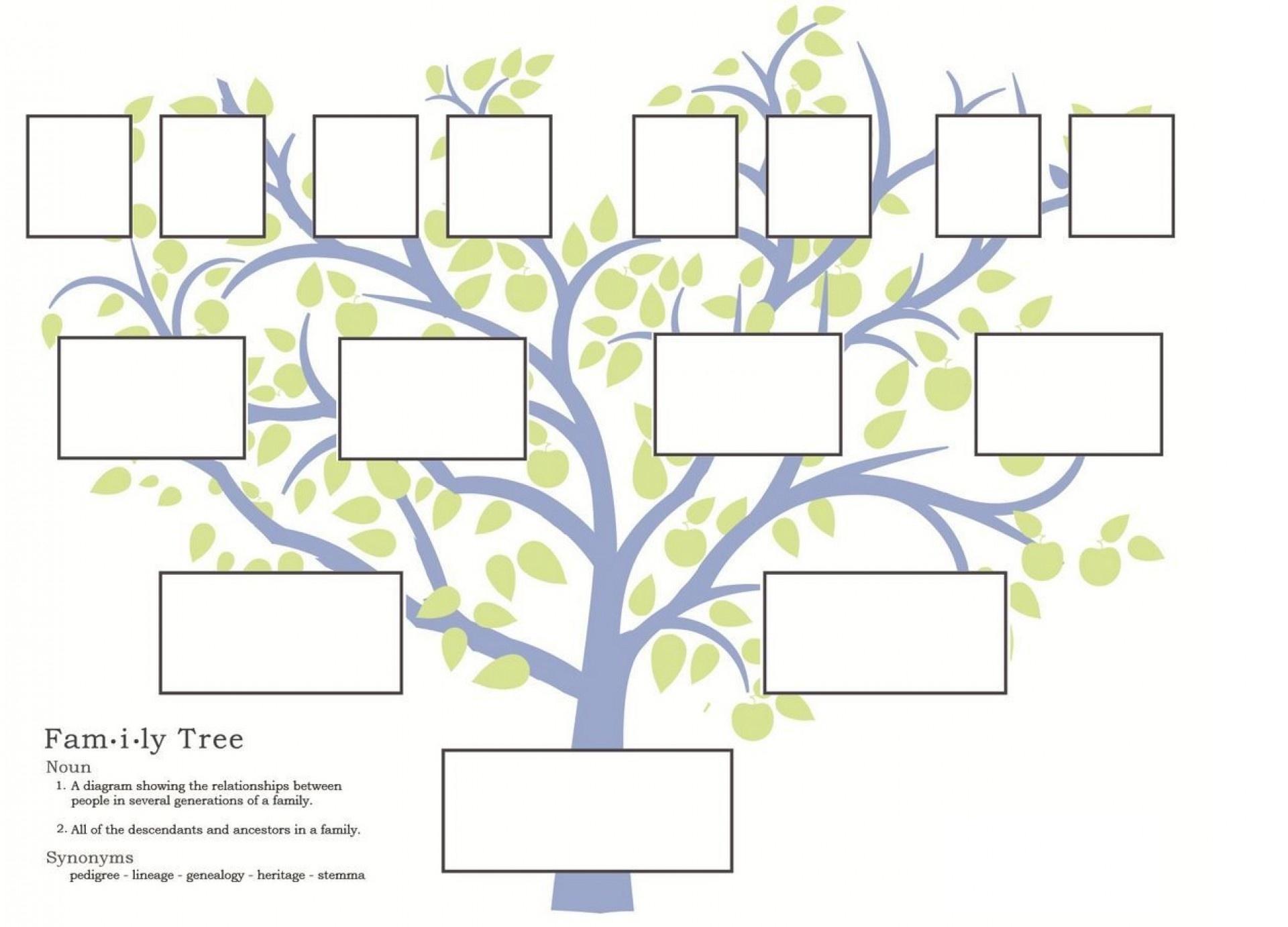 004 Free Family Tree Templates Template Ideas Sensational Editable - Free Printable Family Tree