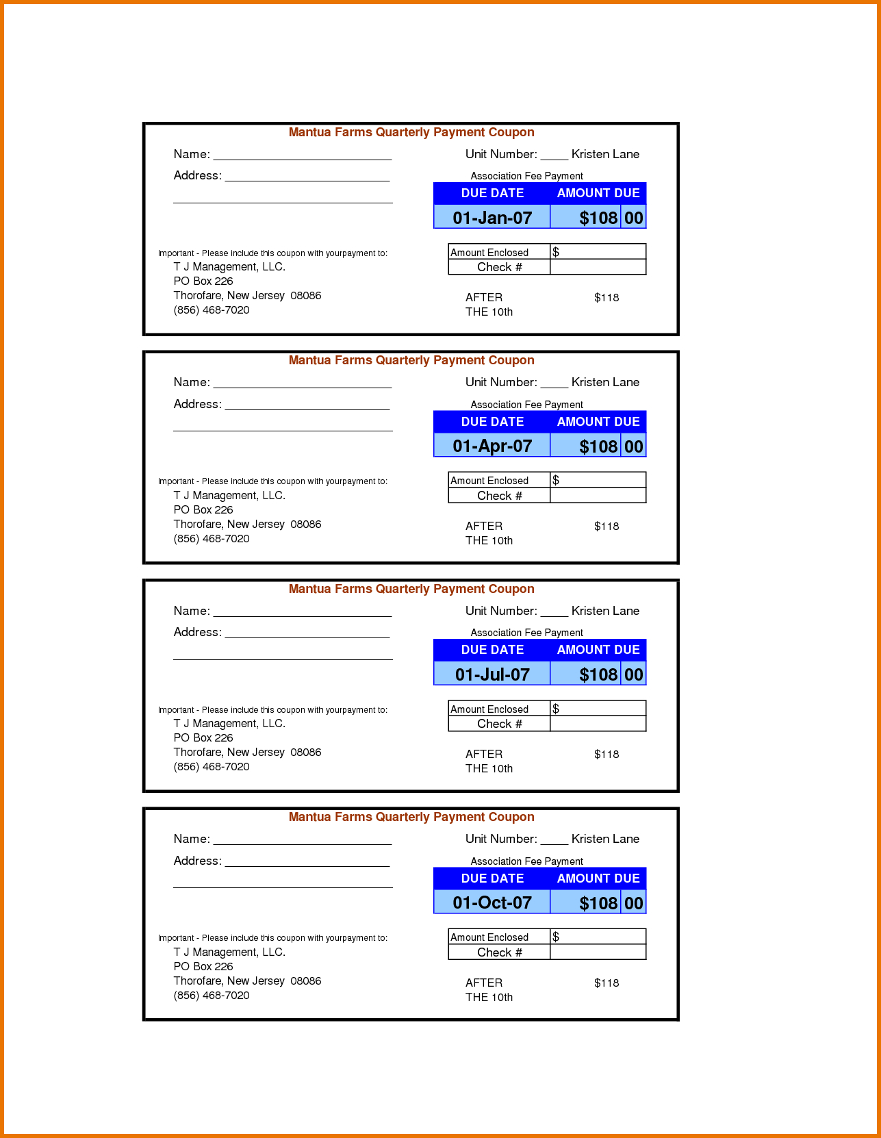 004 Payment Coupon Book Template Oceuwrhh Wonderful Ideas Excel Free - Free Printable Payment Coupon Book