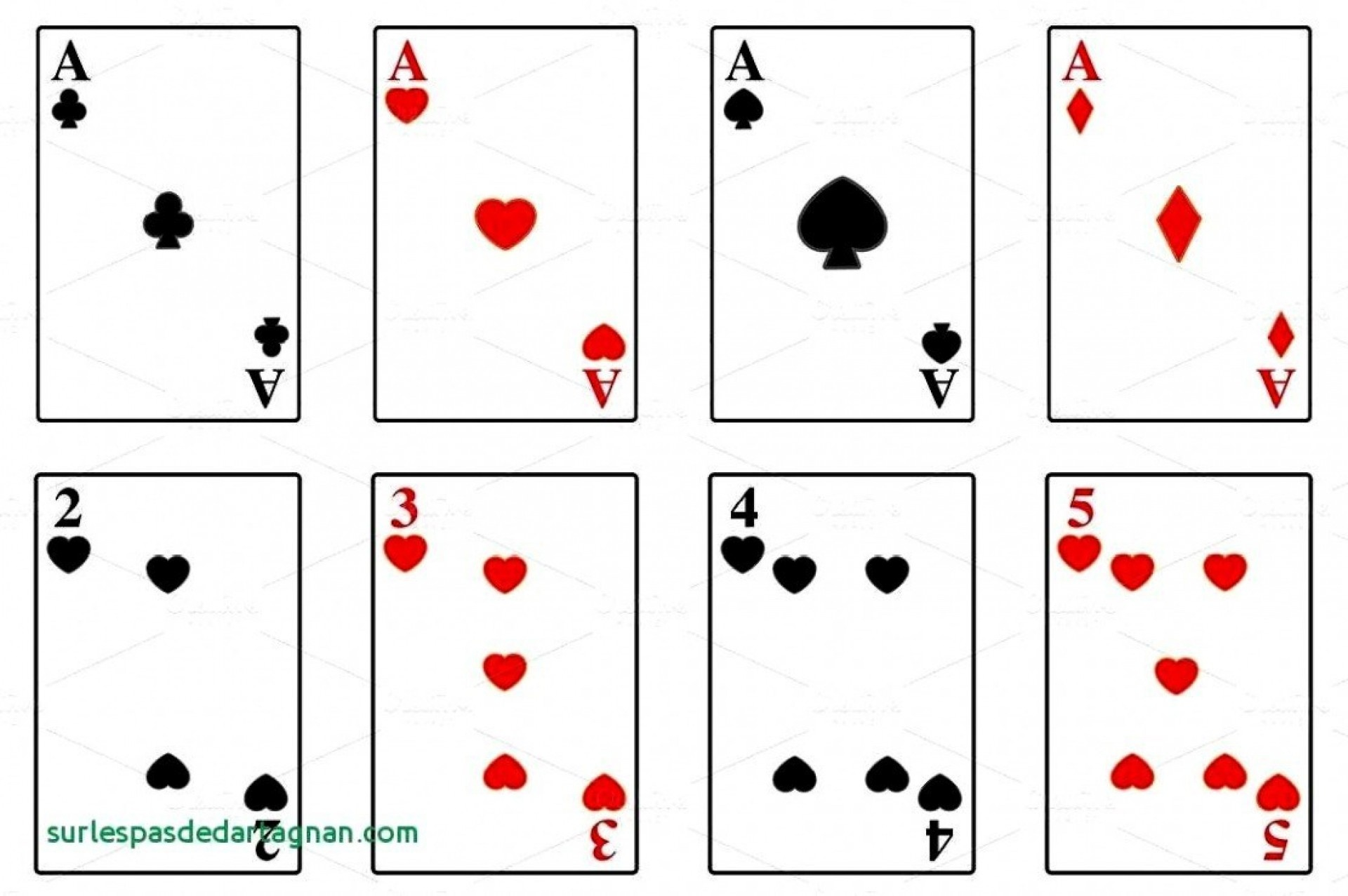 004 Template Ideas Playing Cards Set Hrh3Br Deck Shocking Of - Free Printable Deck Of Cards
