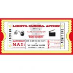 005 Template Movie Ticket Invitation Freeintable Photo Calendar May   Free Printable Ticket Invitation Templates