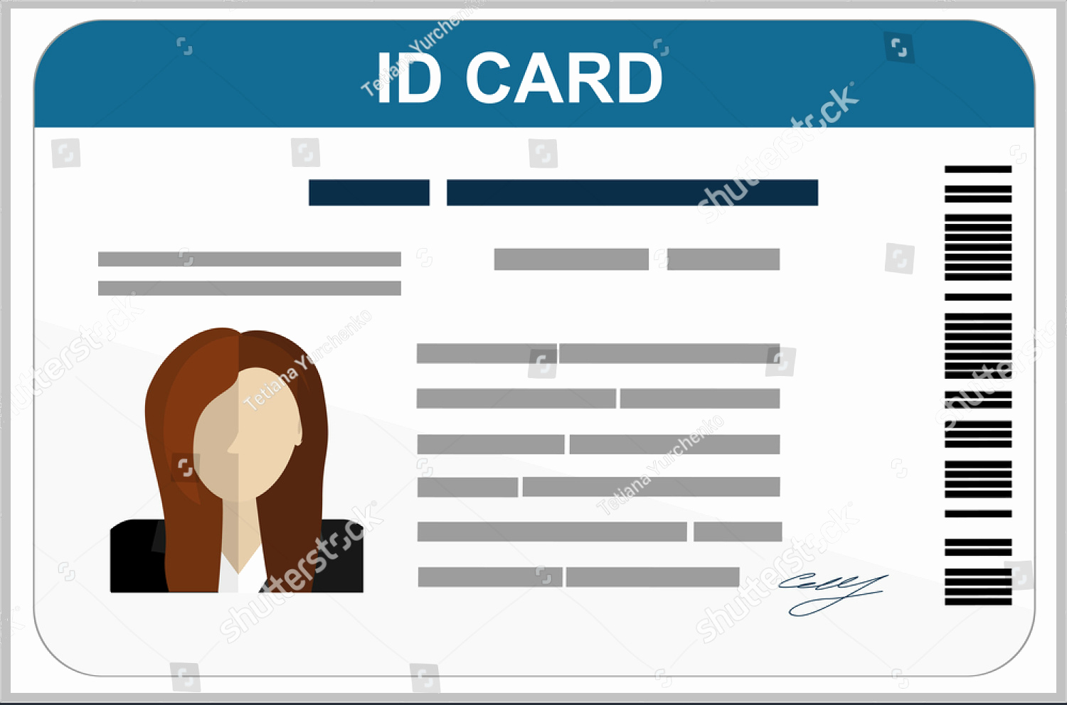 006 Free Printable Id Cards Templates Card Template Beautiful - Free Printable Id Cards Templates