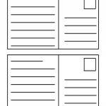 006 Free Printable Postcard Template Sample 7Ey22 Templates Imposing   Free Printable Postcards