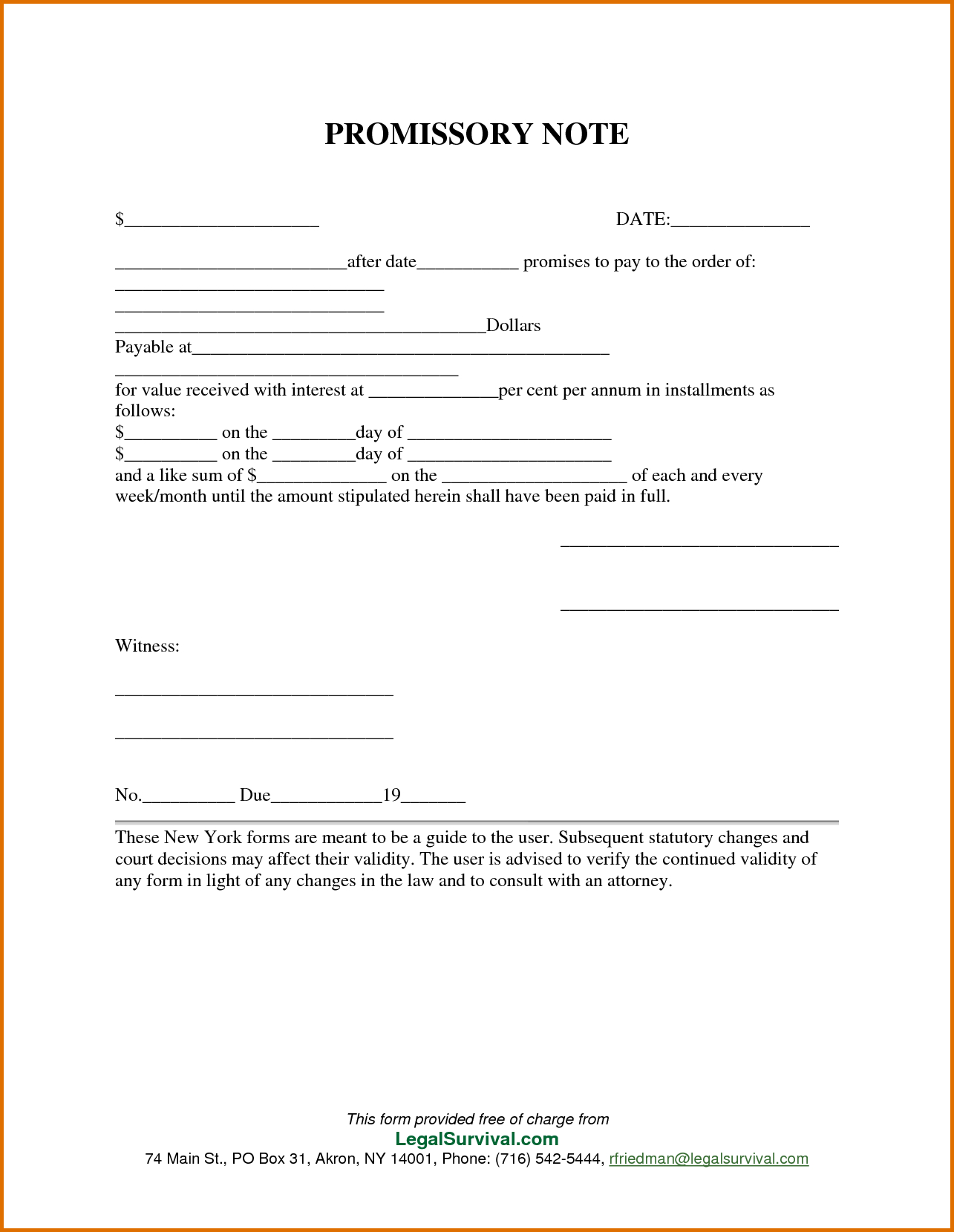 006 Template Ideas Free Promissory Note For Personal Loan - Free Printable Promissory Note For Personal Loan