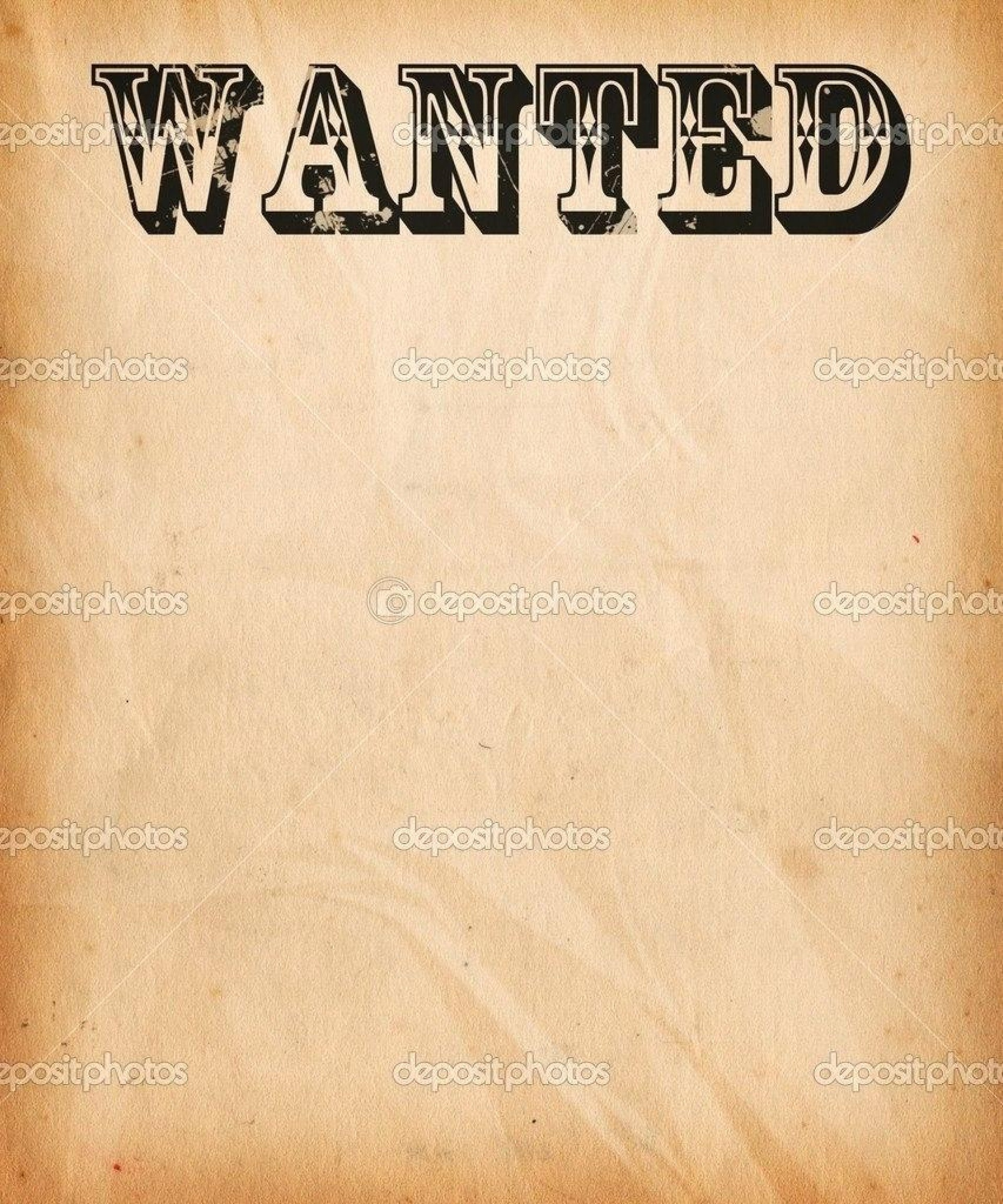 008 Template Ideas Free Wanted Poster Printable Impressive - Wanted Poster Printable Free