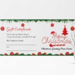 013 Template Ideas Printable Gifts Merry Christmas Awesome Gift   Free Printable Gift Certificate Christmas