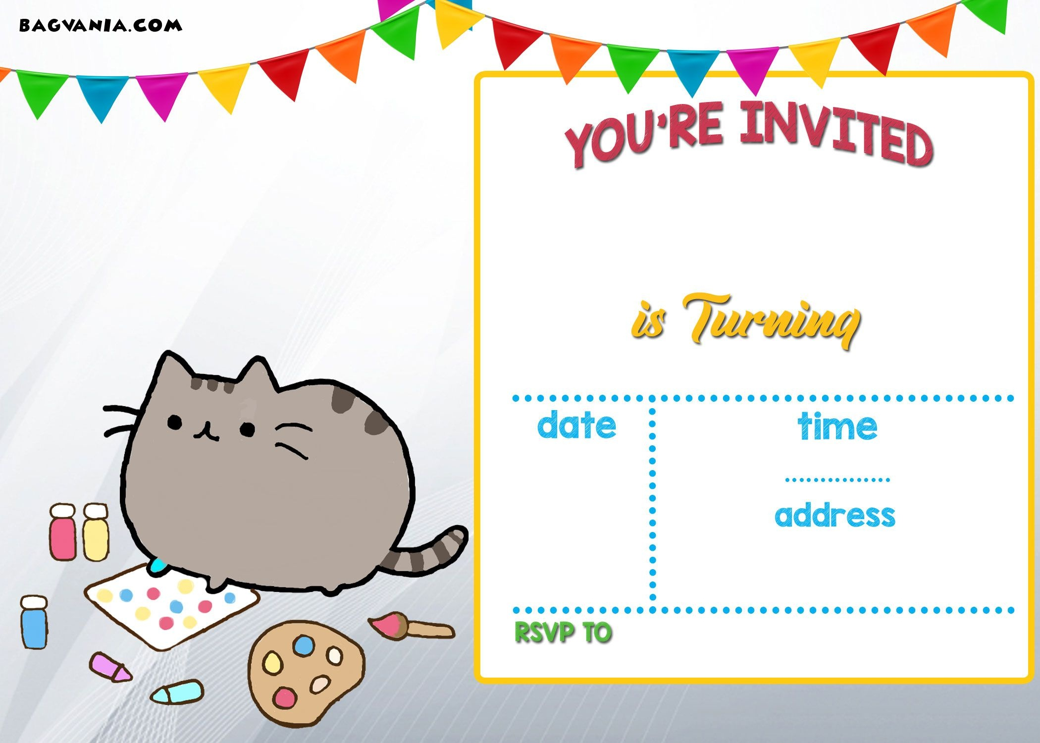 018 Birthday Invitation Templates Free Printable Template Fearsome - Card Maker Online Free Printable