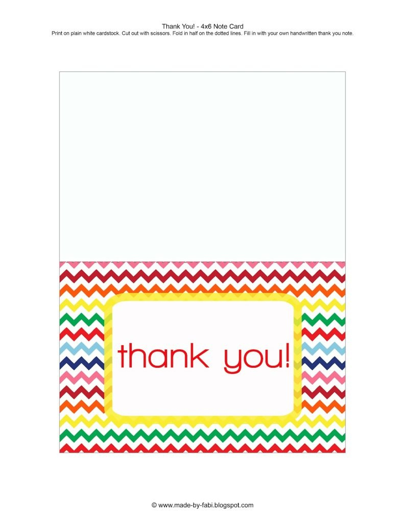 019 Business Card Template Print Beautiful Free Printable Templates - Free Printable Custom Thank You Cards