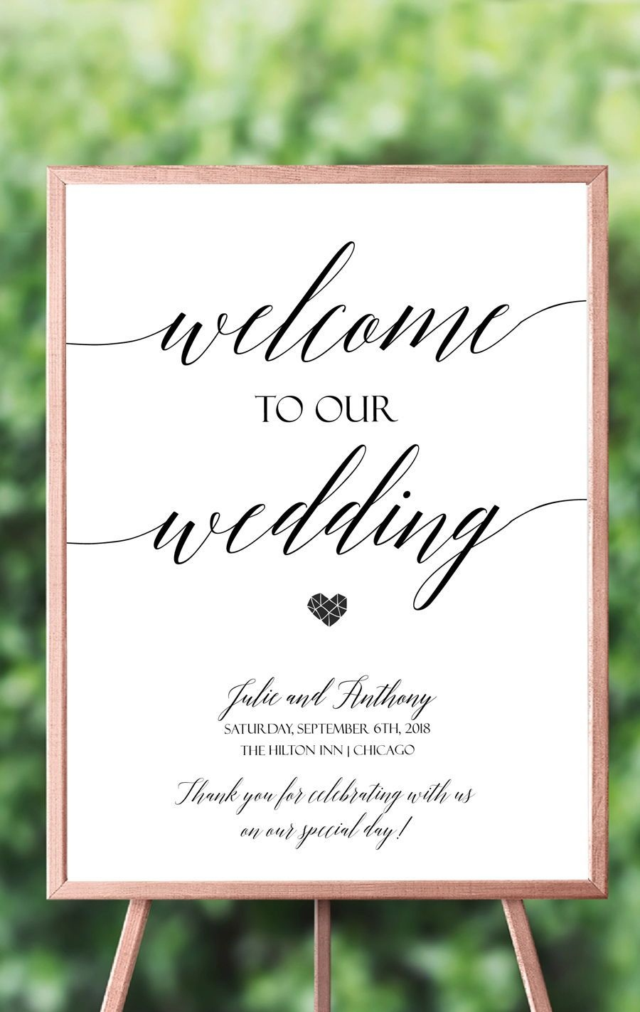 020 Template Ideas Wedding Welcome Phenomenal Sign Diy Free - Free Printable Welcome Sign Template