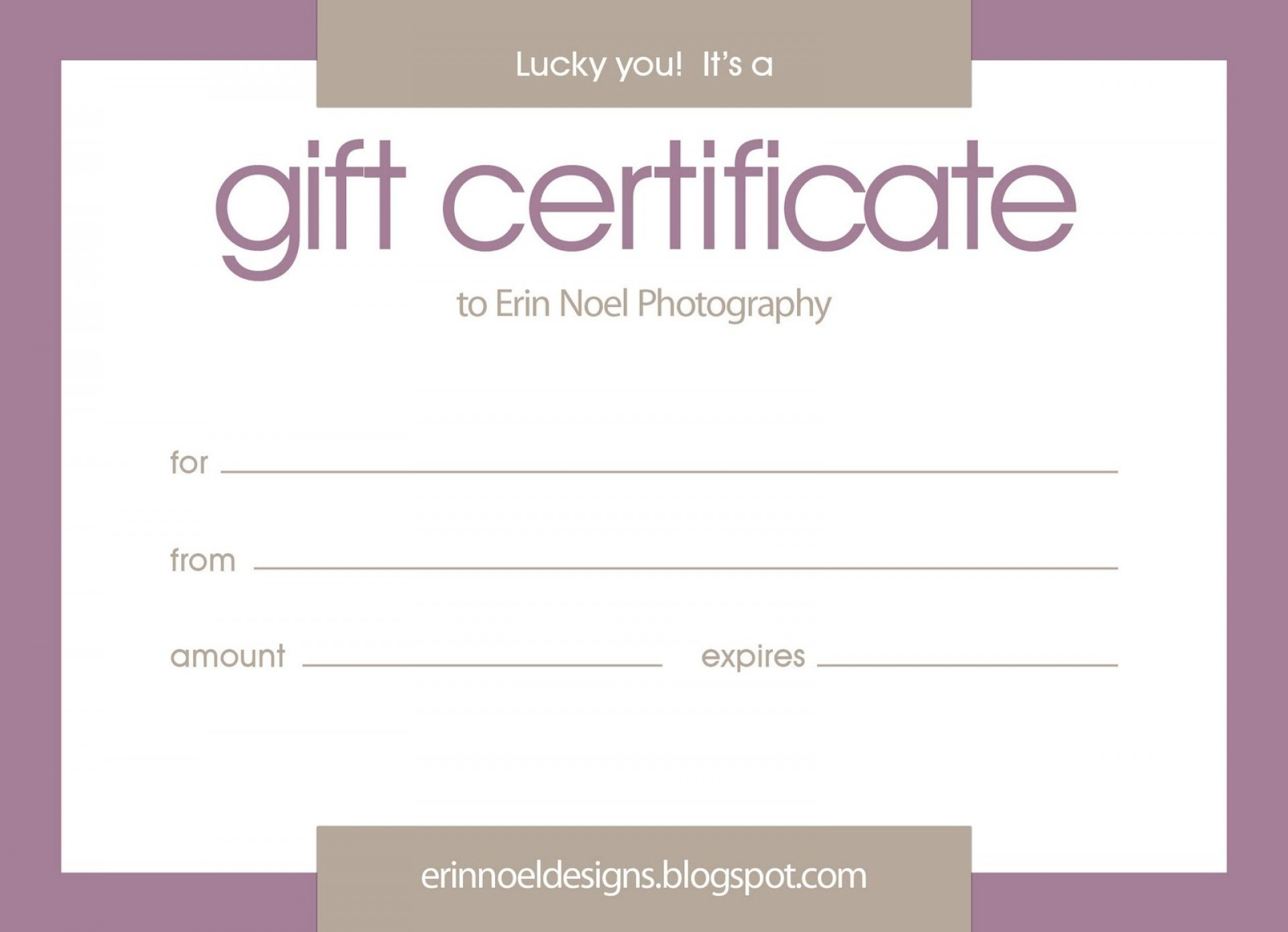 022 Free Printable Gift Certificate Templates 42747 Template - Free Printable Gift Certificate Template