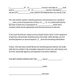 022 Promissory Note Templates Free Template Outstanding Ideas   Free Printable Will Forms Download