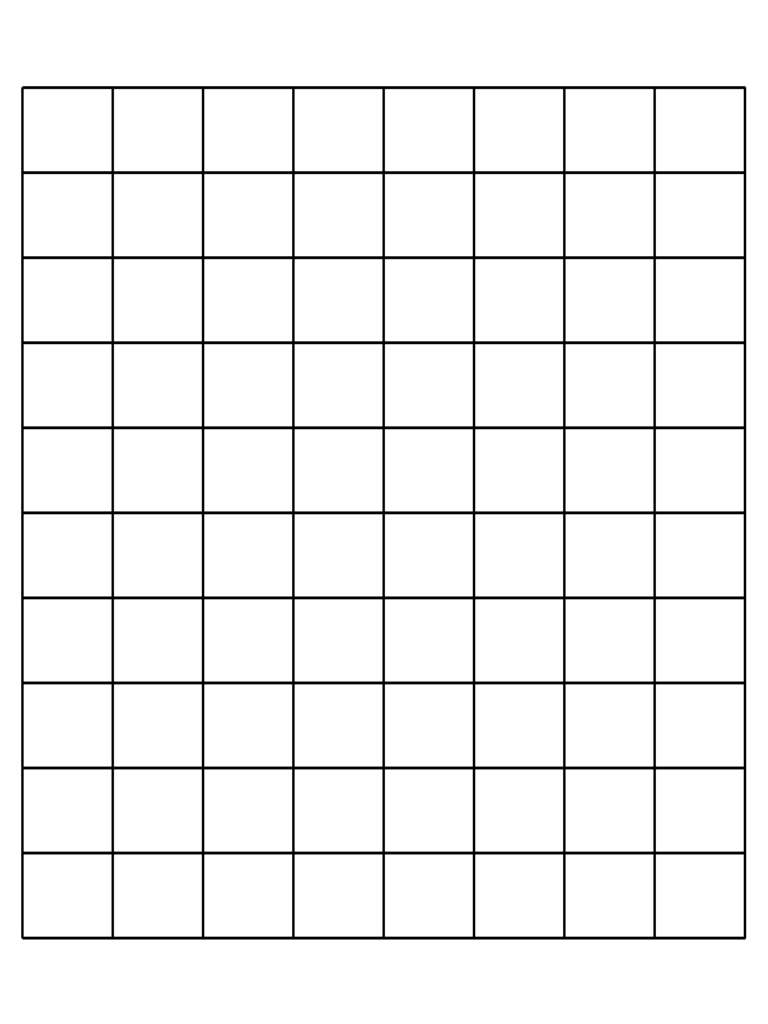 1 Inch Graph Paper - 6 Free Templates In Pdf, Word, Excel Download - One Inch Graph Paper Free Printable
