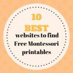 10 Best Websites To Find Montessori Free Printable Documents   Free Montessori Printables