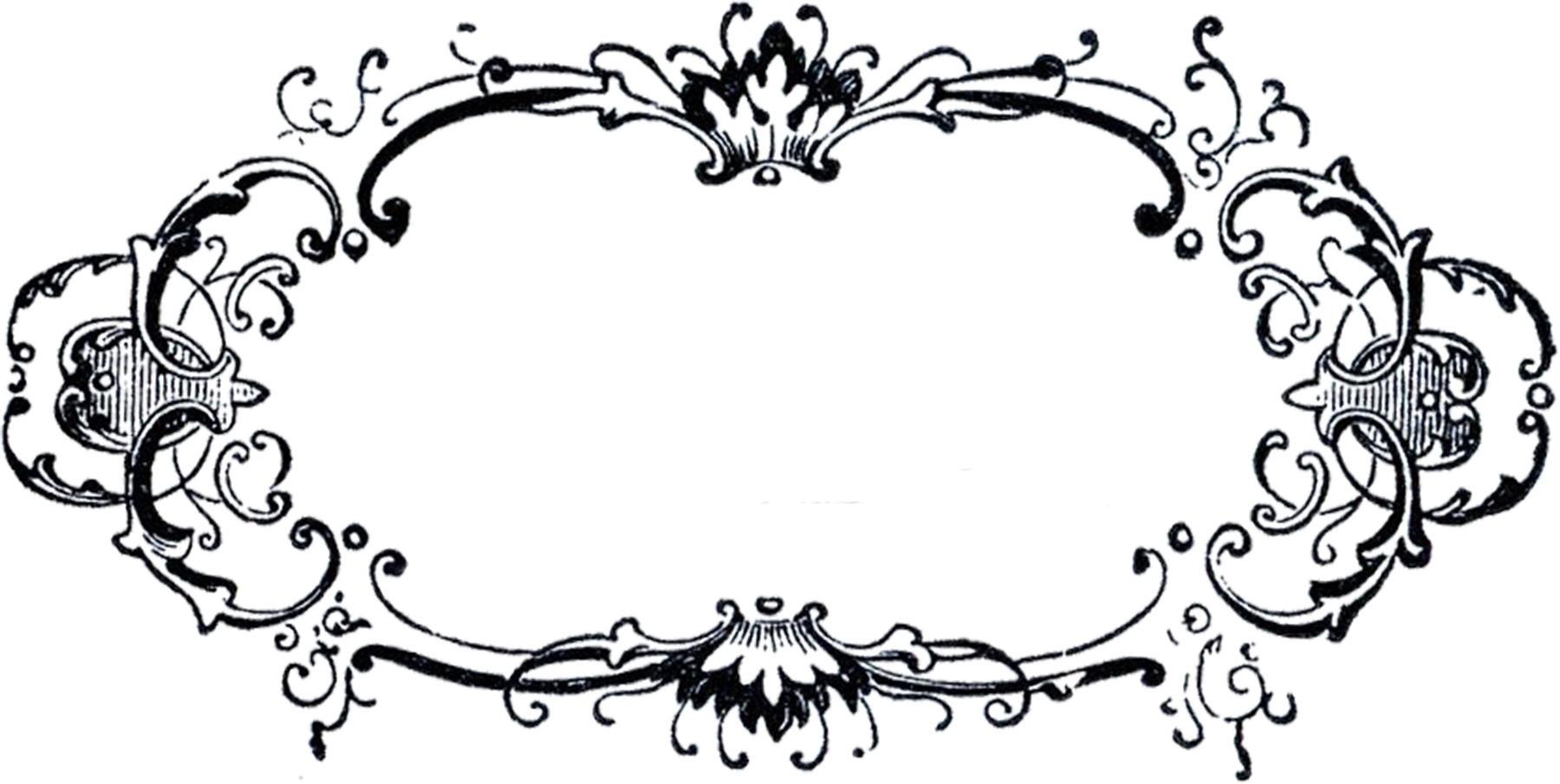 10 Black Fancy Label Templates Images - Fancy Decorative Label - Fancy Labels Printable Free