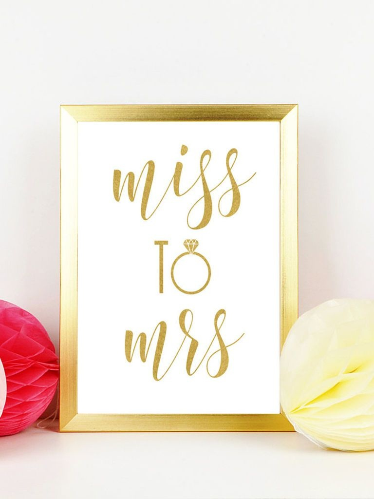 10 Easy (And Fun!) Bachelorette Printables | Wedding Fun | Bridal - Free Printable Bachelorette Signs