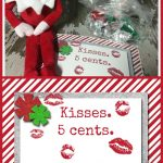10 Easy Elf On The Shelf Ideas And A Daily Printable | Best Crafts   Elf On The Shelf Kissing Booth Free Printable