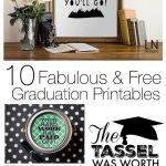 10 Fabulous & Free Graduation Printables   Design Dazzle   Free Graduation Printables 2017