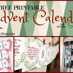 10 Free Advent Printables With Scripture   The Merry Little   Free Printable Advent Bible Study