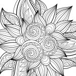 10 Free Printable Holiday Adult Coloring Pages   Free Coloring Pages Com Printable