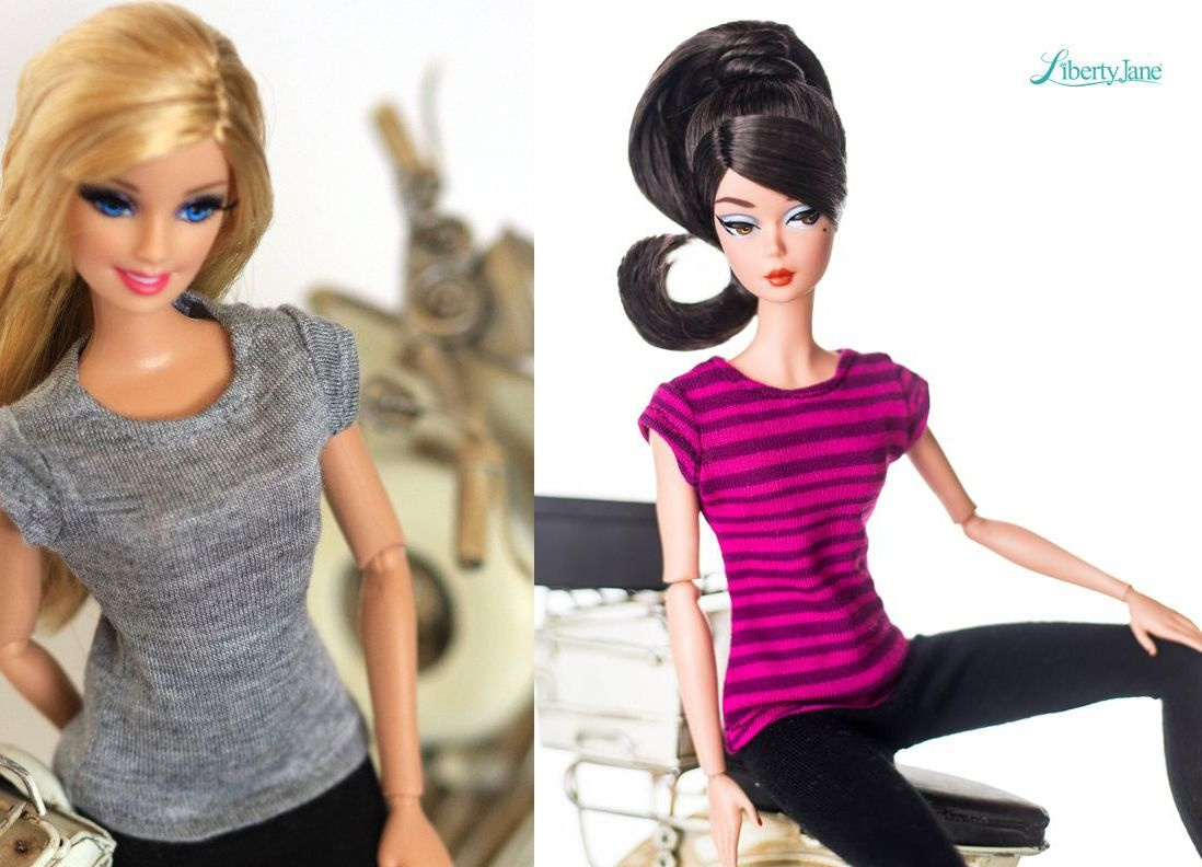 10 Free Sewing Patterns For Barbie Clothes - Easy Barbie Clothes Patterns Free Printable