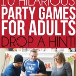 10 Hilarious Party Games For Adults That You've Probably Never Played   Free Printable Women's Party Games