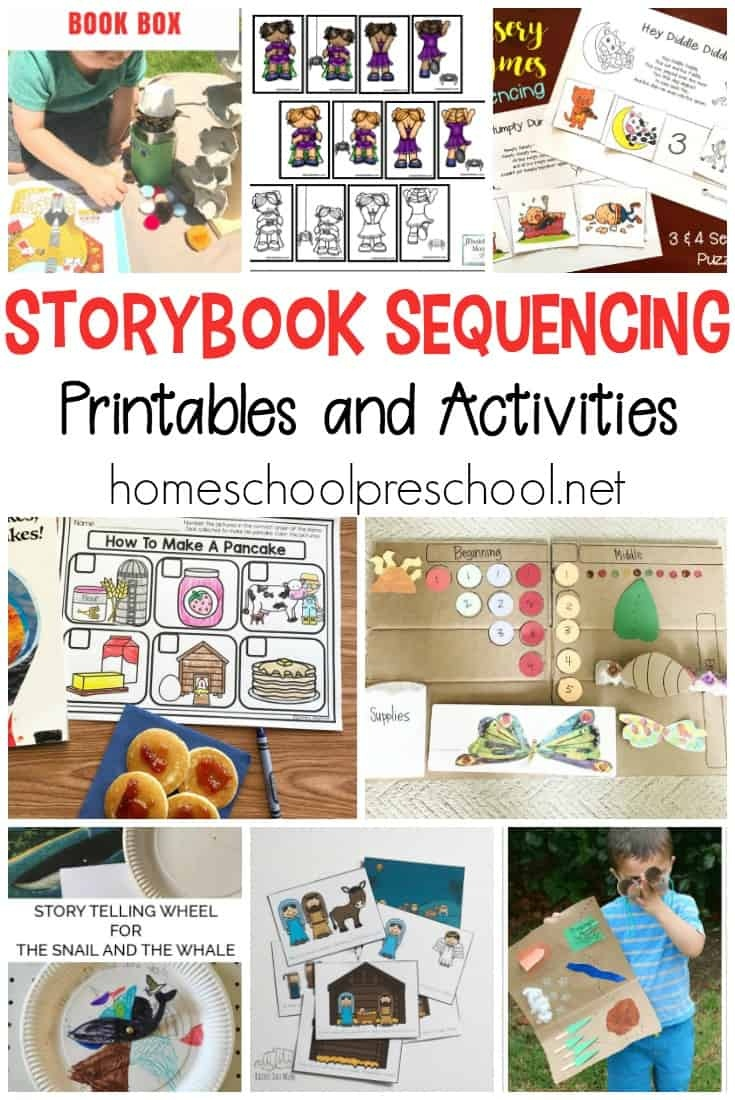 10 Story Sequencing Cards Printable Activities For Preschoolers - Free Printable Stories For Preschoolers