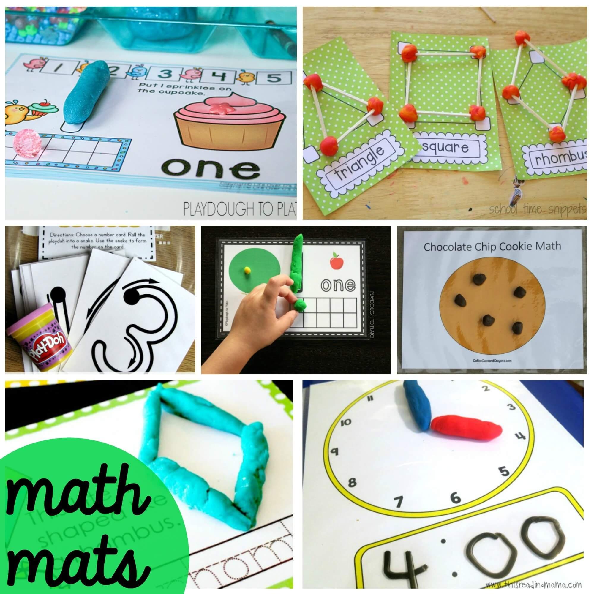 100 Free Playdough Mats - Playdough To Plato - Alphabet Playdough Mats Free Printable