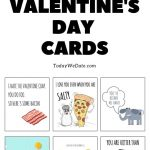 105 Funny Valentine's Day Printables To Surprise Your Sweetheart   Free Funny Printable Cards