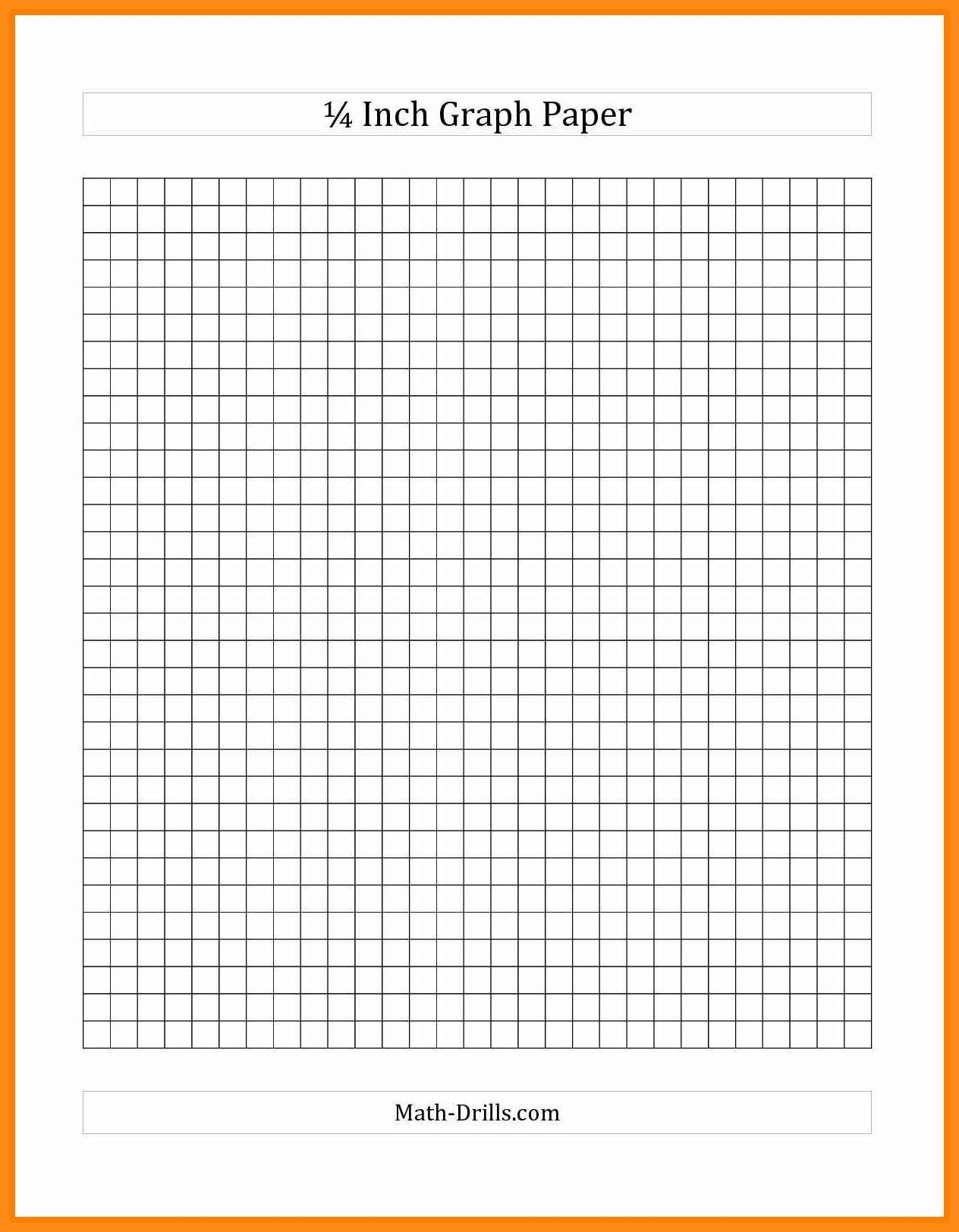 11-12 Quarter Inch Graph Paper | Jadegardenwi - One Inch Graph Paper Free Printable