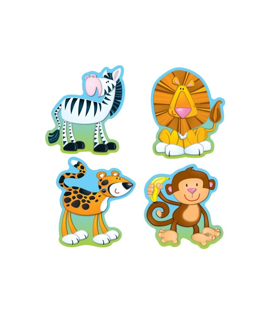 11 Animal Cut Out Photoshop Images - Jungle Safari Animal Cut Outs - Free Printable Animal Cutouts