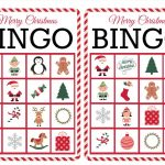 11 Free, Printable Christmas Bingo Games For The Family   Winter Bingo Cards Free Printable