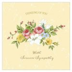 11 Free, Printable Condolence And Sympathy Cards   Free Printable Thinking Of You Cards