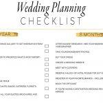 11 Free, Printable Wedding Planning Checklists   Free Printable Wedding Party List