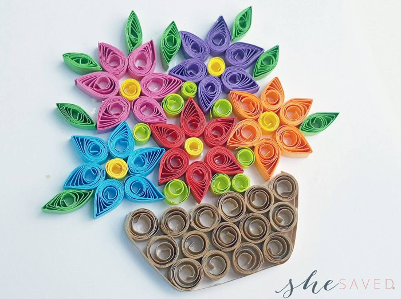 11 Paper Quilling Patterns For Beginners - Free Printable Quilling Patterns