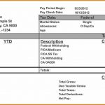 12+ Create Pay Stubs Online Free | Grittrader   Free Printable Pay Stubs