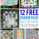 12 Free Charm Pack Quilt Patterns To Stitch Up   Quilt Patterns Free Printable