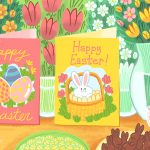 12 Free, Printable Easter Cards For Everyone You Know   Free Printable Easter Card Inserts