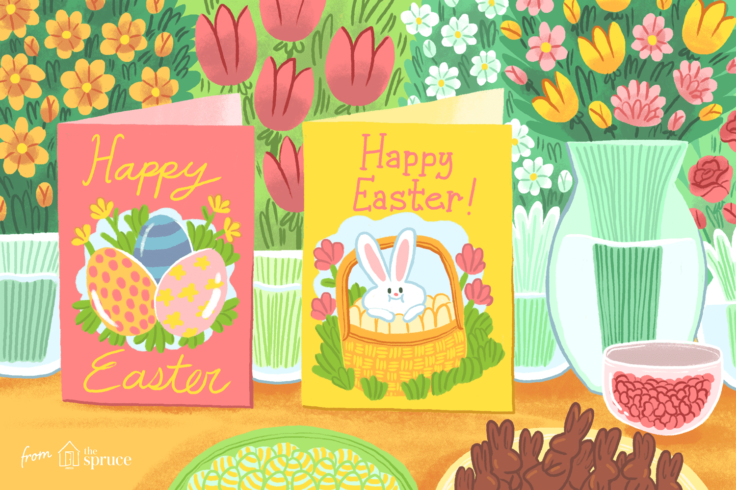 12 Free, Printable Easter Cards For Everyone You Know - Free Printable Easter Card Inserts