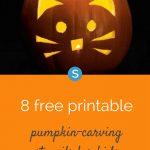 12 Free Printable Pumpkin Carving Stencils For Kids | Parenting And   Halloween Pumpkin Carving Stencils Free Printable
