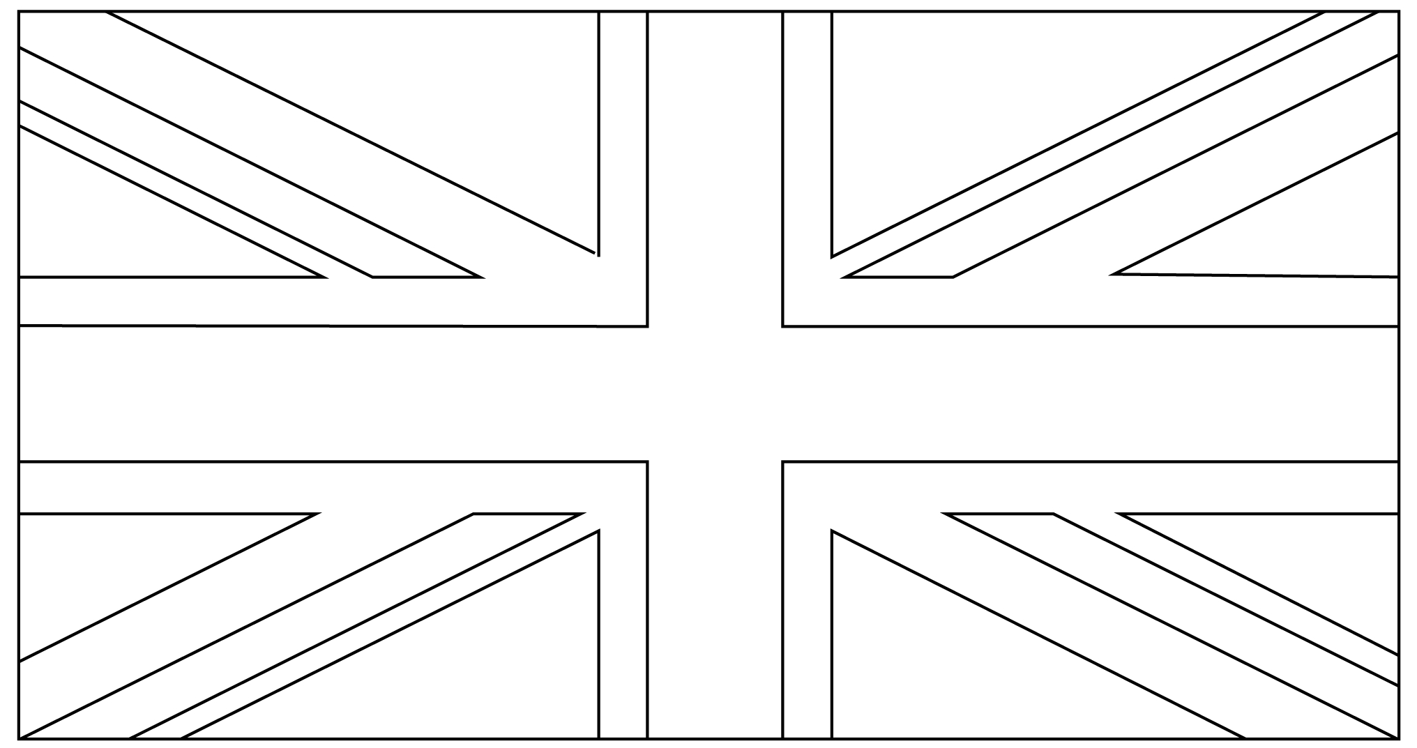 12 Free Printable Templates | For The Home | Union Jack, Royal - Free Printable Union Jack Flag To Colour