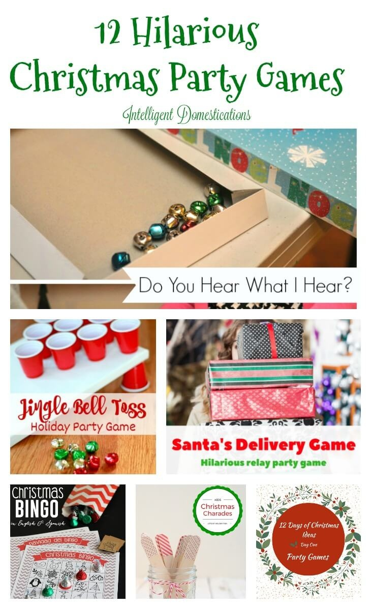 12 Hilariously Fun Christmas Games For A Party! - Twelve On Main - Holiday Office Party Games Free Printable