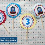 126. Thomas Cupcake Toppers. | Make Great   Free Printable Thomas The Train Cupcake Toppers