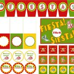 13 Best Photos Of Fiesta Party Printables   Free Printable Cinco De   Free Printable Mexican Party Decorations