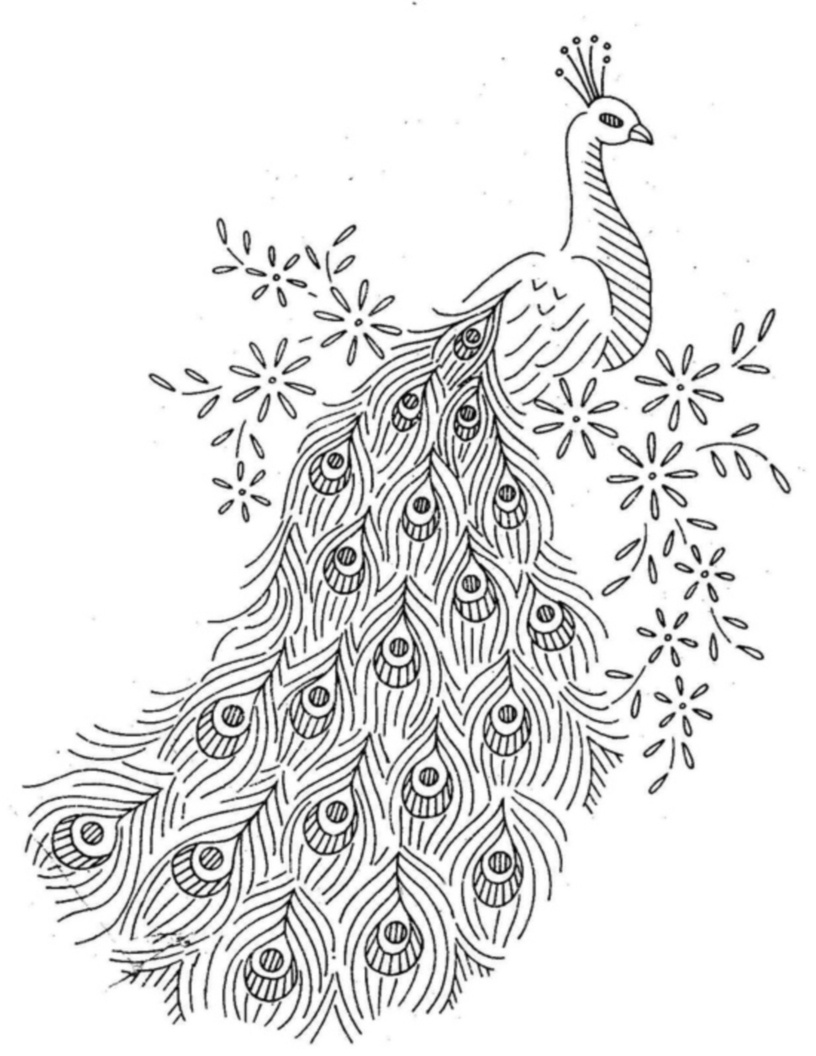 13 Best Photos Of Peacock Quilling Patterns Free Printable - Hand - Free Printable Quilling Patterns