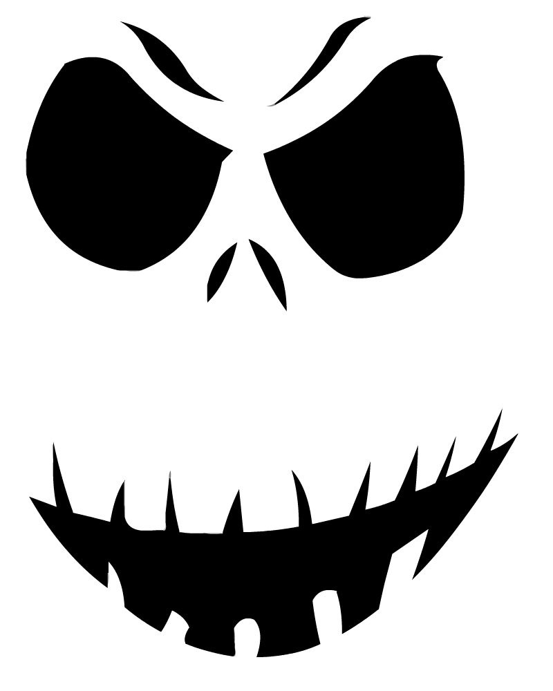 14 Unique Jack Skellington Pumpkin Stencil Patterns | Guide Patterns - Free Printable Jack Skellington Pumpkin Stencils