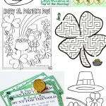 15 Awesome St. Patrick's Day Free Printables For Kids   Free St Patrick's Day Printables