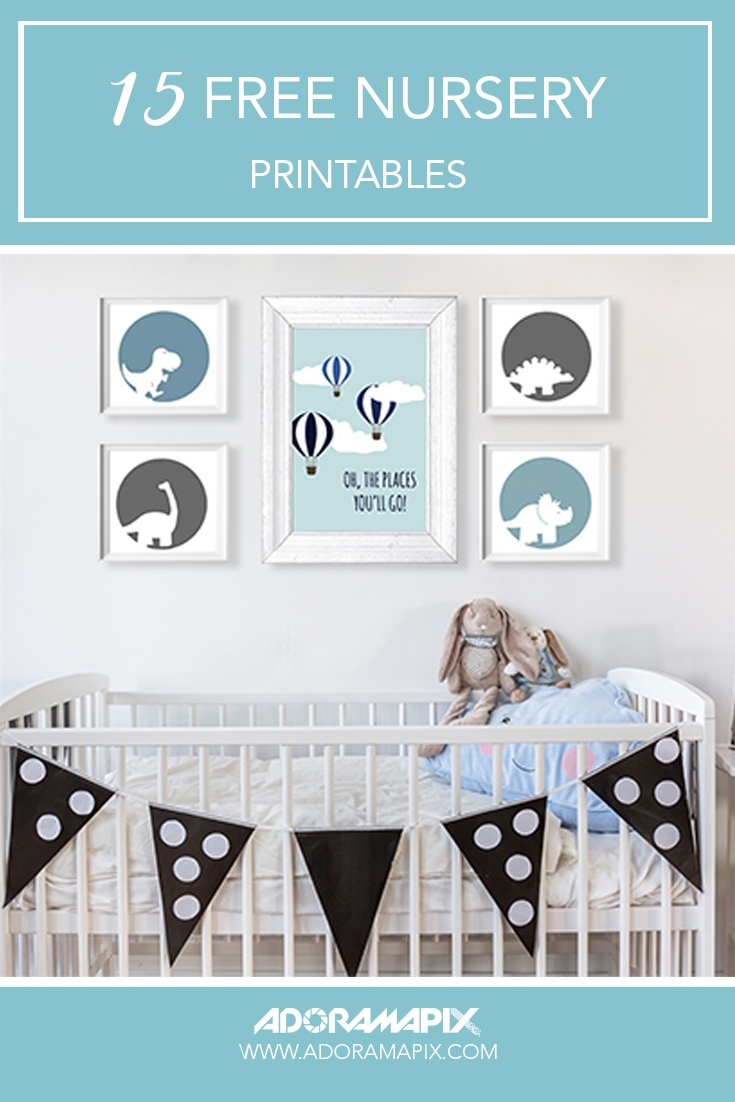 15 Free Nursery Printables - Free Nursery Printables