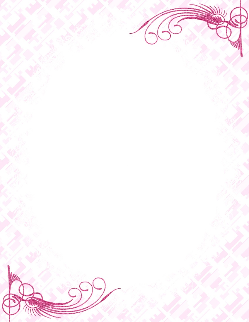 17 Stationery Border Designs Images - Free Printable Stationery - Free Printable Stationery Templates For Word