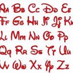 18 Disney Letters Font Images   Disney Letter Font Embroidery, Walt   Free Printable Disney Alphabet Letters
