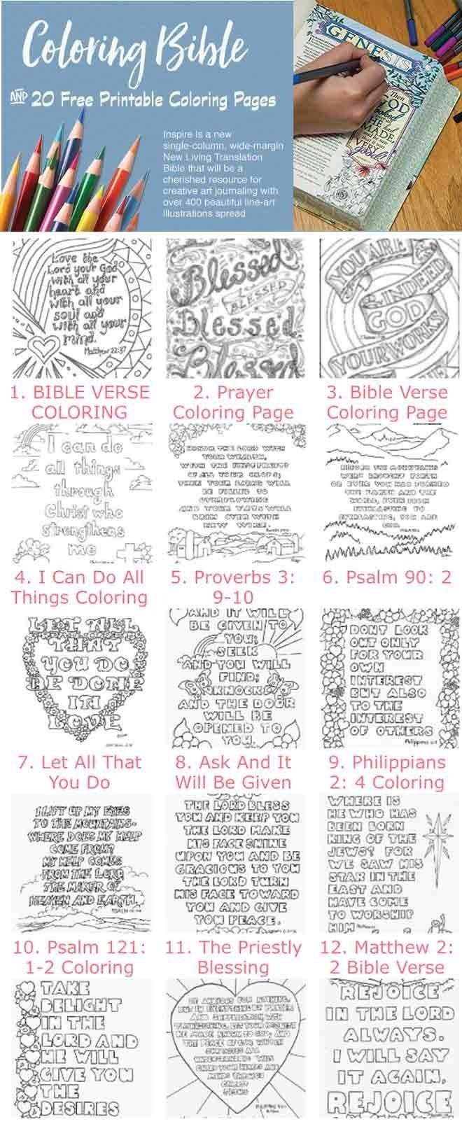 20+ Free Bible Coloring Pages And A Peek Into The New Bible Cooling - Free Printable Bible Lessons For Youth