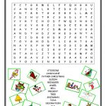20 Free Esl Christmas Wordsearch Worksheets   Christmas Find A Word Printable Free